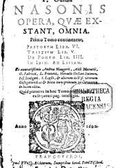 Opera quae exstant: Volume 1