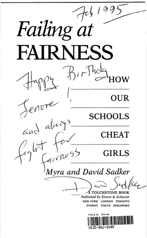 Failing at Fairness