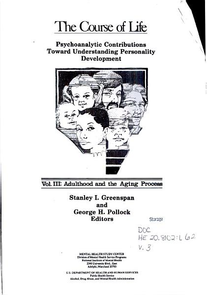 The Course of Life  Adulthood and the aging process PDF