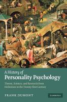 A History of Personality Psychology PDF