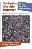 Designing Worship Together PDF