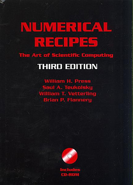 Numerical Recipes with Source Code CD ROM 3rd Edition PDF