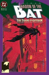 Batman: Shadow of the Bat (1992-) #10