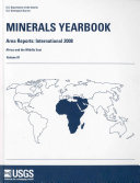Minerals Yearbook, 2008, V. 3, Area Reports, International, Africa and the Middle East