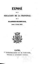Vertoog van den bestuurlijken toestand der provincie