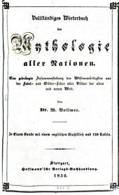 Wörterbuch der Mythologie aller Nationen: Mit 129 Tafeln