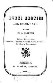 Poeti erotici del secolo XVIII