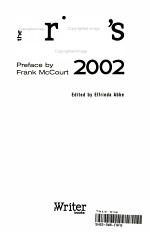 The Writer's Handbook 2002