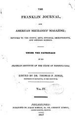 The Franklin Journal And American Mechanics Magazine Book PDF