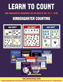 Kindergarten Counting  Learn to Count for Preschoolers  PDF