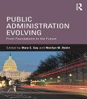 Public Administration Evolving