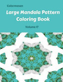 Large Mandala Pattern Coloring Book
