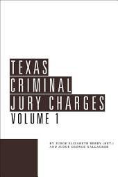Texas Criminal Jury Charges