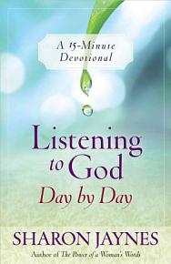 Listening to God Day by Day PDF