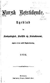 Norsk retstidende: Volum 59