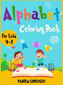 Alphabet Coloring Book for Kids 4-8
