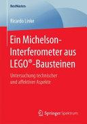 Ein Michelson Interferometer Aus LEGO   Bausteinen PDF