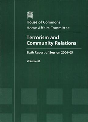 Terrorism and Community Relations  Oral and written evidence PDF