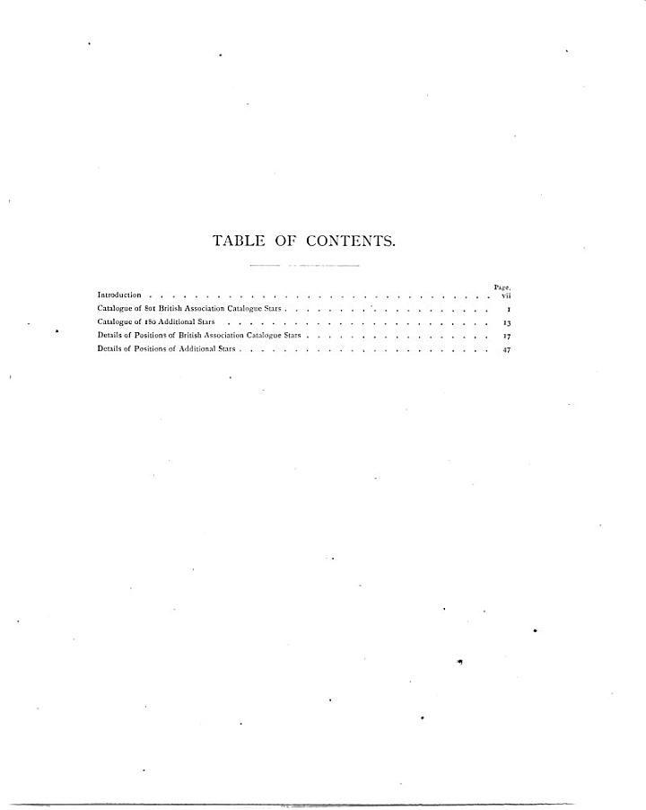 Catalogue of the Mean Declinations of 901 Stars Between Twelve Hours and Twenty-six Hours of Right Ascension and Thirty Degrees and Sixty Degrees of North Declination, for January 1, 1875