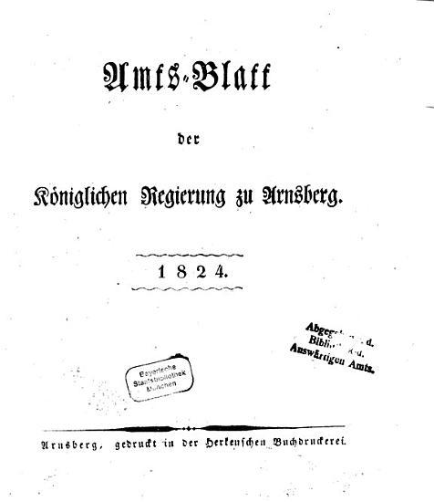 Amtsblatt f  r den Regierungsbezirk Arnsberg PDF
