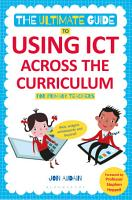 The Ultimate Guide to Using ICT Across the Curriculum  For Primary Teachers  PDF