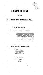Handleiding tot het wetboek van koophandel: Volume 2