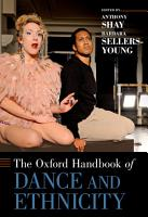 The Oxford Handbook of Dance and Ethnicity PDF