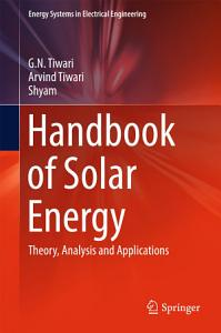 Handbook of Solar Energy PDF