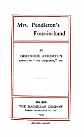 Mrs. Pendleton's Four-in-hand