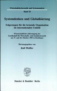 Systemdenken und Globalisierung PDF