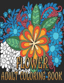 Flower Adult Coloring Book PDF