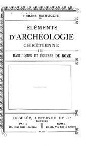 Éléments d'archéologie chrétienne ...