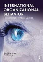 International Organizational Behavior PDF