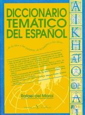 Diccionario temático del español