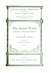 Young Folks' Treasury: The animal world : a book of natural history