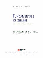 Fundamentals of Selling PDF