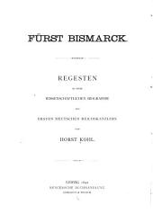Fürst Bismarck: 1871-1890