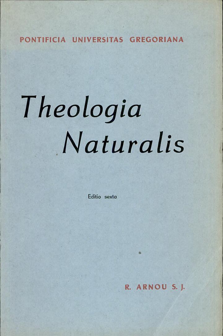 Theologia Naturalis