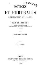 Notices et portraits, historiques et littéraires: Volume2