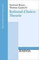 Rational Choice Theorie PDF