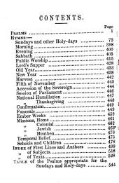A selection of Psalms and hymns, arranged for the public services of the Church of England, compiled by C. Hesketh, J. Jackson [and others].