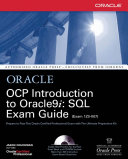 OCP Introduction to Oracle9i: SQL Exam Guide