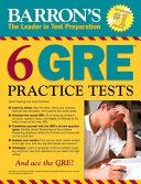 Barron s 6 GRE Practice Tests Book
