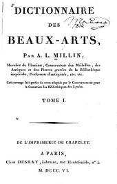 Dictionnaire des beaux-arts: Volume1