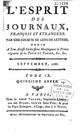 L'esprit des journaux français et étrangers