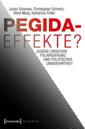 Pegida-Effekte?: Jugend zwischen Polarisierung und politischer Unberührtheit