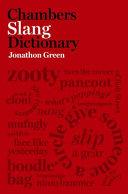 Chambers Slang Dictionary PDF