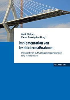 Implementation von Lesef  rderma  nahmen PDF