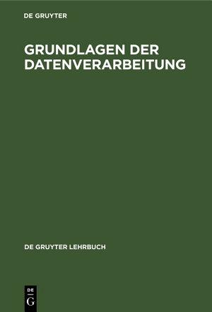 Grundlagen der Datenverarbeitung PDF
