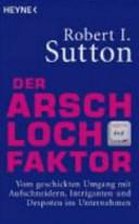 Der Arschloch Faktor PDF